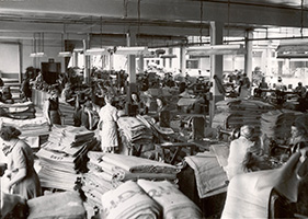 Jute production, c1950