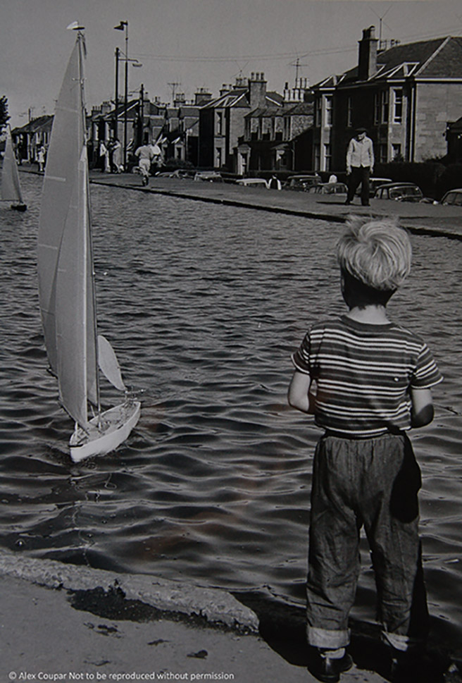 Sailing boat, Swannie Ponds, c1960