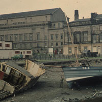 Caird Hall & harbour 1960s