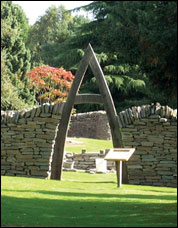Image of Archway in Garden