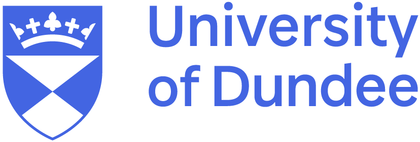 Univeristy of Dundee logo structure