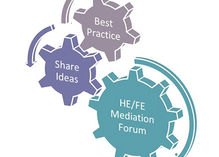 Graphic for HE/FE Mediation Forum