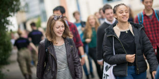 Top 10 in the UK for student satisfaction