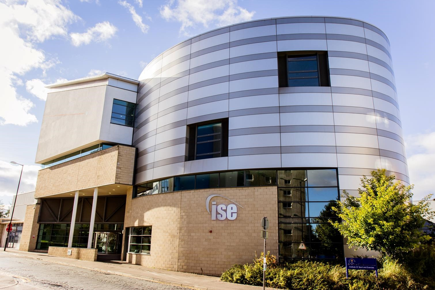 Image of front face of the Institute of Sport and Exercise