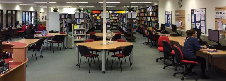 Fife library study space