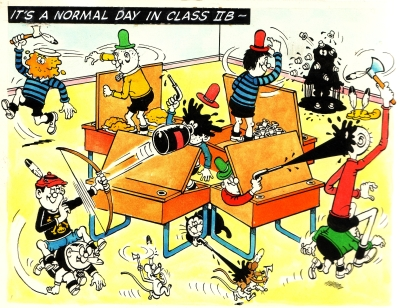 Bash Street Kids by David Sutherland 1966