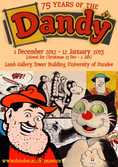 poster for Dandy exhibition