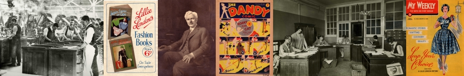 Selection of images from the DC Thomson exhibition