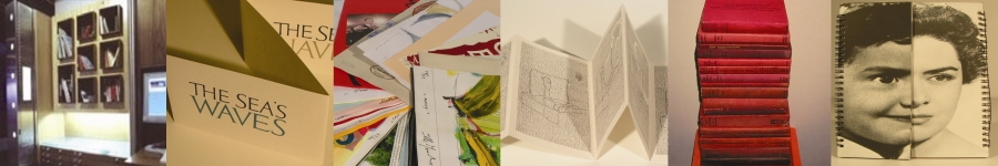 selection of images from the Centre for Artists Books