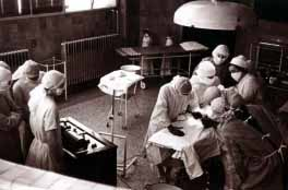 Caird operating theatre 1930s