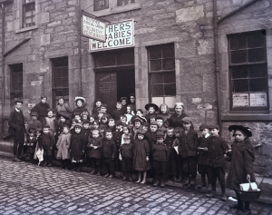 photograph of Dundee Social Union children's restaurant