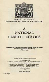 HMSO publication on the National Health Service