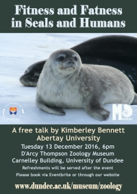 Poster for Kimberley Bennett talk