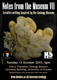 poster for the Notes from the Museum VII event