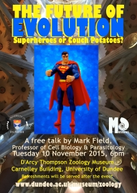 Poster for Mark Field talk