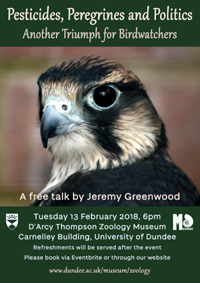 Poster for Jeremy Greenwood event