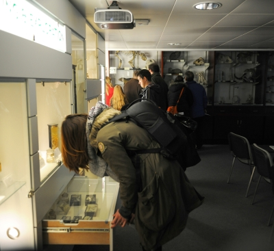 Visitors during Light Night 2012