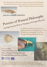 Poetries of Natural Philosophy poster