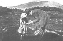 D'Arcy and his daughter Barbara