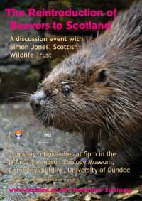 poster for Beaver event