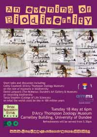 poster for biodiversity event