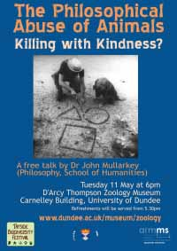 poster for John Mullarkey event