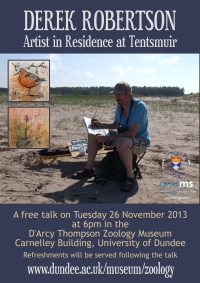 Poster for Derek Robertson talk
