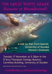 poster for shark event