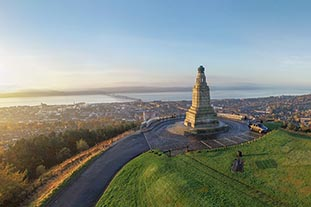 photo of Dundee Law hill
