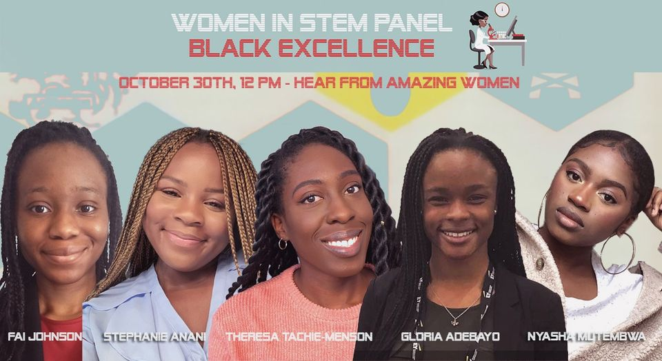 Women in STEM panel: Black Excellence