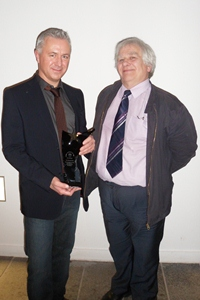Prof Calum Colvin and Eddie Small, University of Dundee (from left to right).