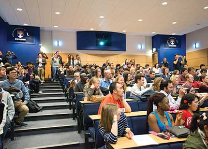 Image of lecture theatre
