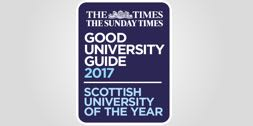 The Times/Sunday Times Good University Guide 2016 - Scottish University of the Year