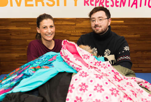 Thumbnail for story: Students launch city-wide coat appeal for kids