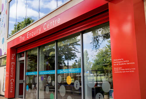 Enquiry Centre at DUSA