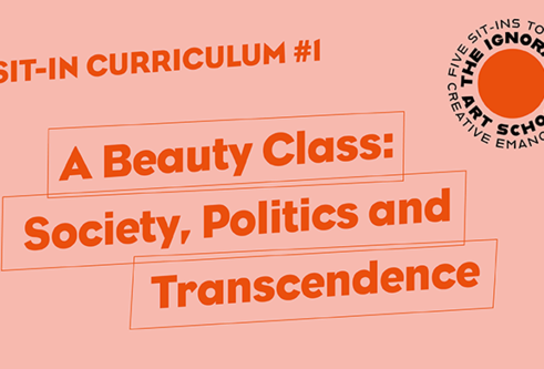 An image with A beauty class:Society, politics and transcendence
