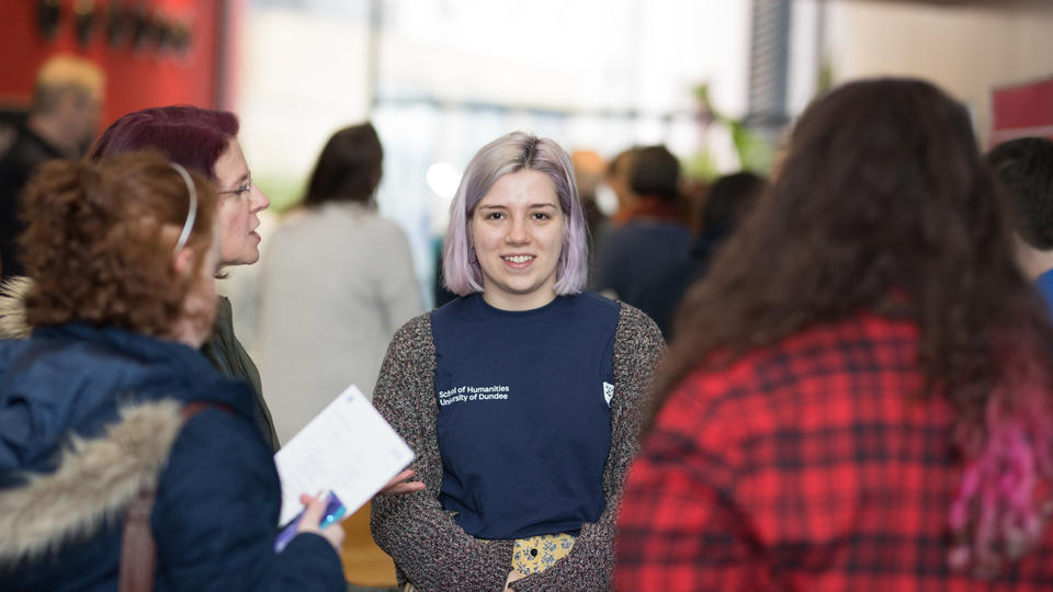 Student at Open Day