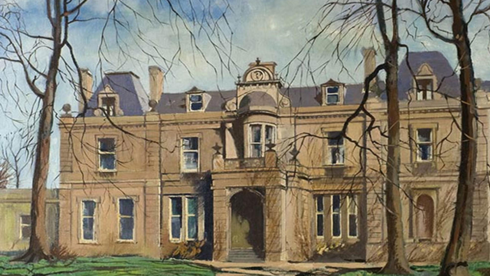 Painting of Mayfield House